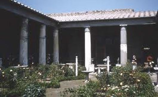 Peristylium Wealthy Roman House